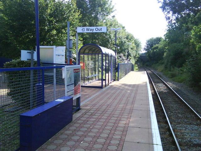 Islip Rail Station (view SW)