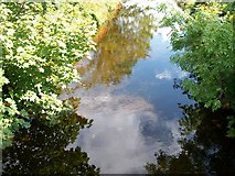 J3731 : The placid Tullybranigan River above the Bryansford Road bridge by Eric Jones