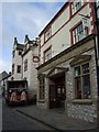 SH7877 : Piggy Bank delivery in Conwy by Richard Hoare