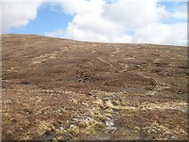 NN4547 : Col between Meall Cruinn and Creag Riabhach by Richard Webb