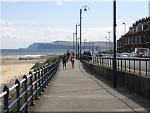 NZ6124 : Redcar - Promenade at Granville Terrace by Dave Bevis