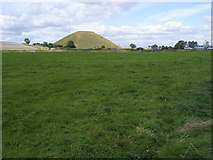 SU1068 : Looking across to Silbury Hill by Shaun Ferguson