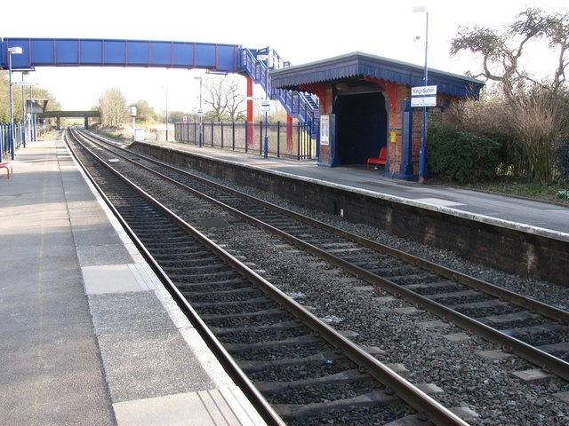 Rail Station (unmanned), King's Sutton