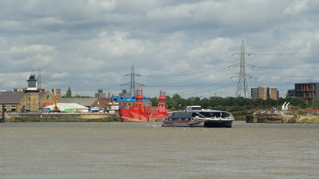 Mouth of the River Lea or Lee