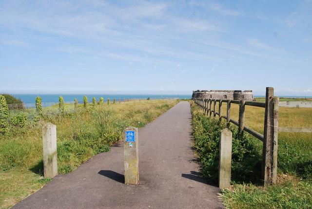 Regional Cycleway 15 near Botany Bay