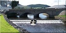 J3731 : The Weir below the Shimna Bridge by Eric Jones