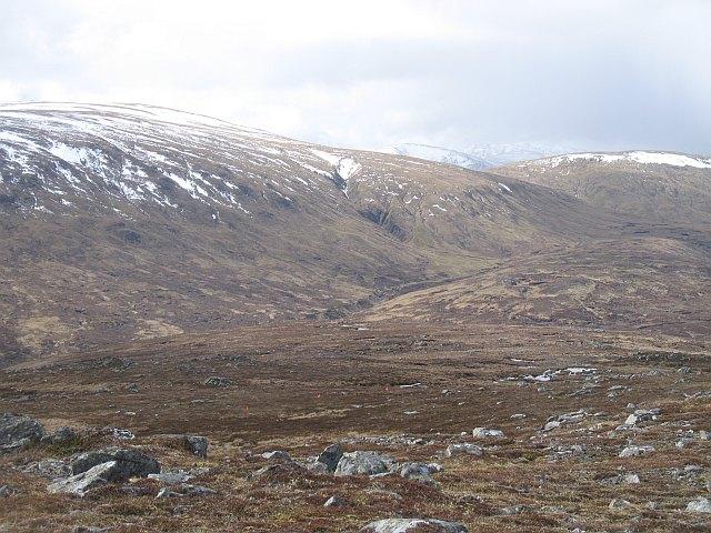 West ridge, Creag Riabhach