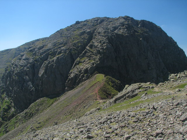 Mickledore and Scafell Crag