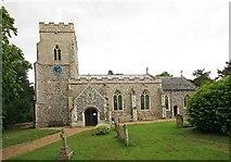 TM2384 : St Margaret, Starston, Norfolk by John Salmon
