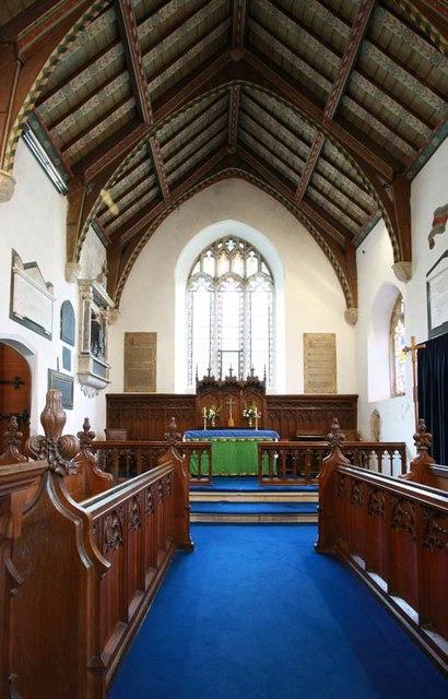 St Margaret, Starston, Norfolk - Chancel