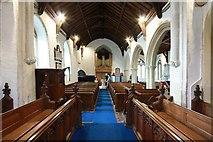 TM2384 : St Margaret, Starston, Norfolk - West end by John Salmon