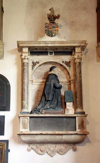 St Margaret, Starston, Norfolk - Wall monument