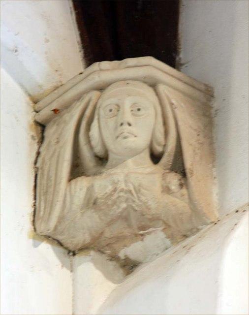 St Margaret, Starston, Norfolk - Corbel