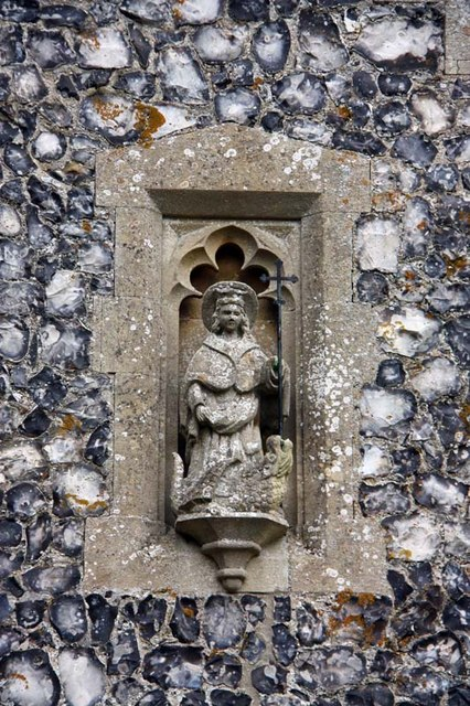 St Margaret, Starston, Norfolk - Porch detail