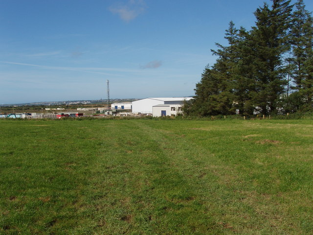 Pasture by Waterford Airport