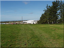 S6303 : Pasture by Waterford Airport by David Hawgood