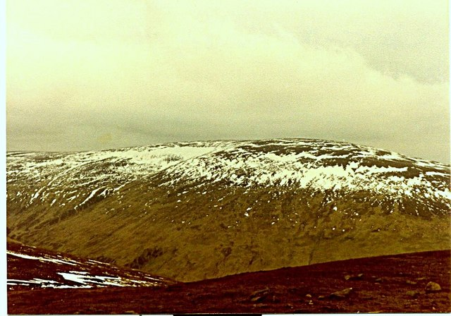 Cheviot from summit of Hedgehope