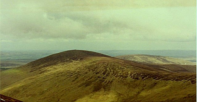 Hedgehope from summit of Cheviot