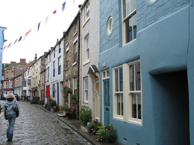 Terraced Houses at Staithes.