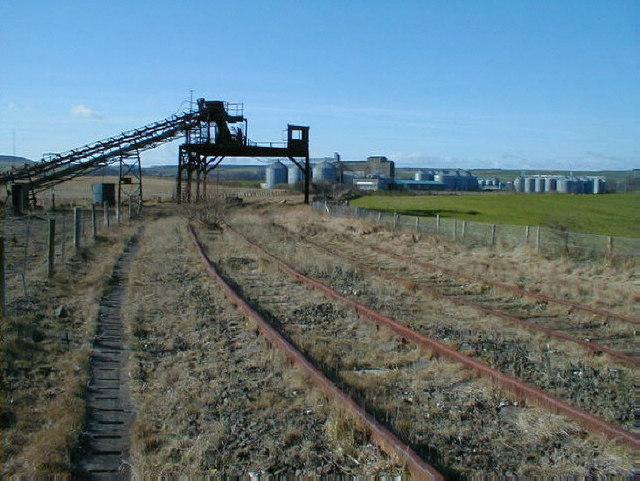 Easington Quarry sidings