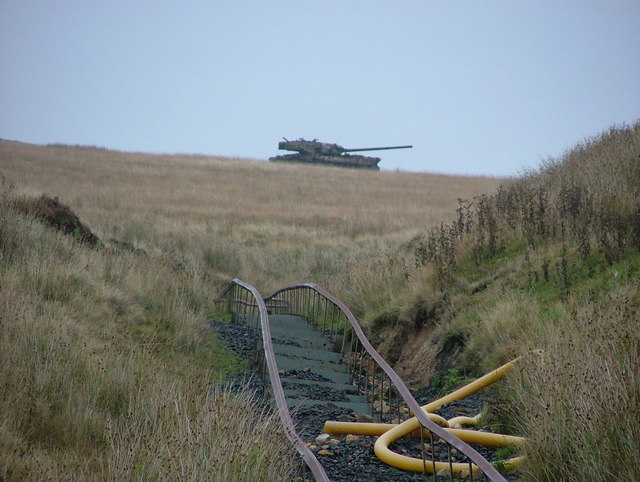 Tank Range at Redesdale