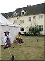 TG3303 : Fair on the Yare - competitors in the scarecrow competition by Evelyn Simak