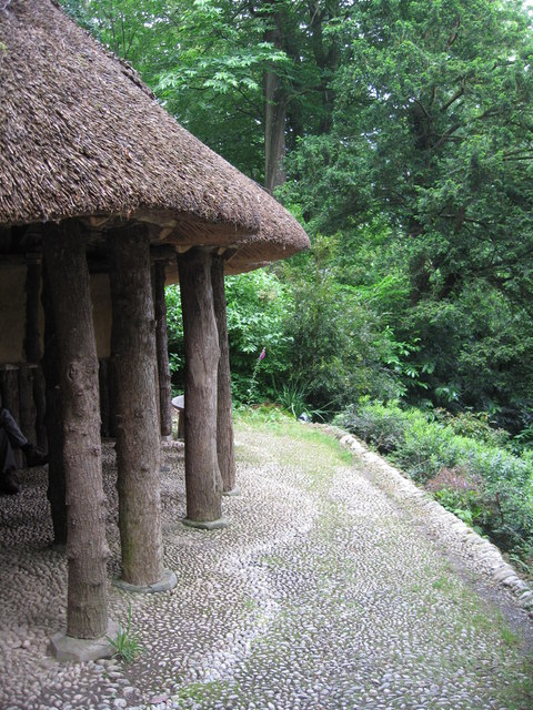 Alice's Retreat ,Trebah, cob and thatch