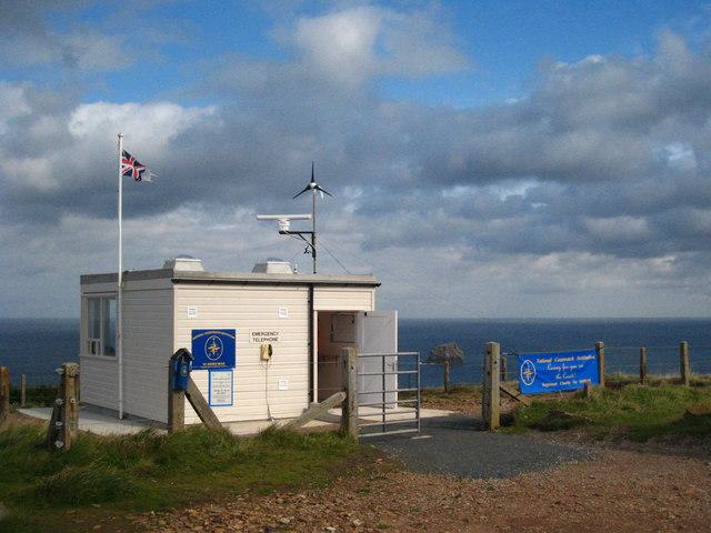 St Agnes Head coastguard station