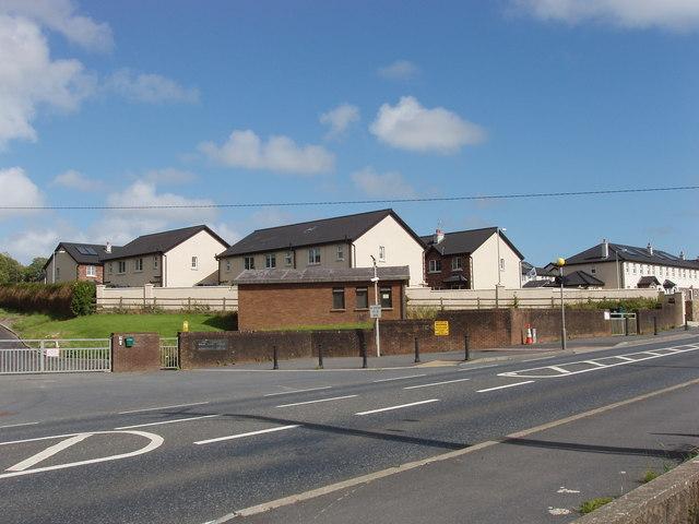 Housing estate at Kilmeaden Village Centre