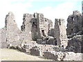NY7914 : Brough Castle Ruins by Colin Smith