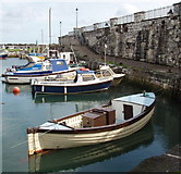 D2818 : Carnlough Harbour by David Hawgood