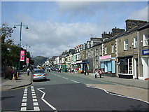 SH5638 : High Street Porthmadog by Richard Hoare