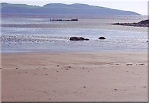 NX6548 : Sands at low tide in Nun Mill Bay by Ann Cook