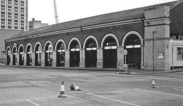 Gt Victoria Street  bus station, Belfast (1)
