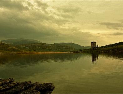 NC2323 : Ardvreck Castle,  Scotland by Chris N Illingworth