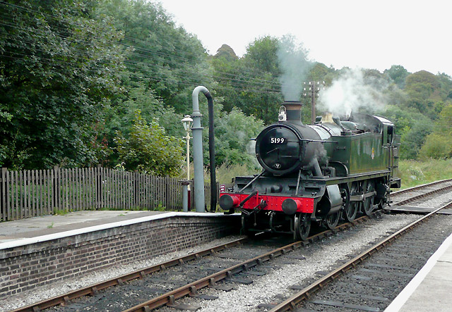 Churnet Valley Railway at Froghall, Staffordshire