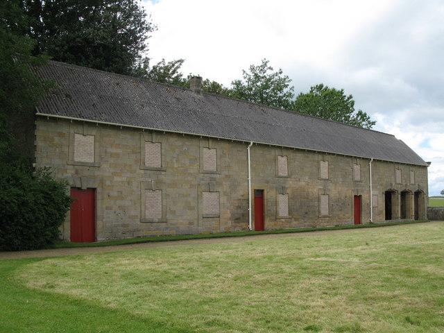 Old Stable Block near Belsay Castle