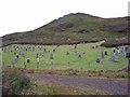 NG3534 : Cemetery at Portnalong (2) by Richard Dorrell
