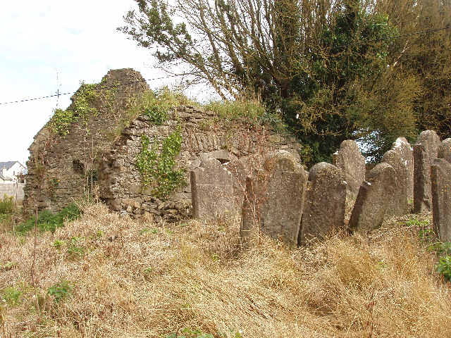 Portnascully Church ruins and graves