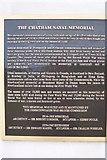 TQ7668 : Plaque on Chatham War Memorial by David Anstiss