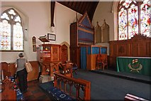 TR3748 : St John the Evangelist, Kingsdown, Kent - Sanctuary by John Salmon