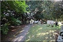 TR3051 : St Andrew, Tilmanstone, Kent - Churchyard by John Salmon