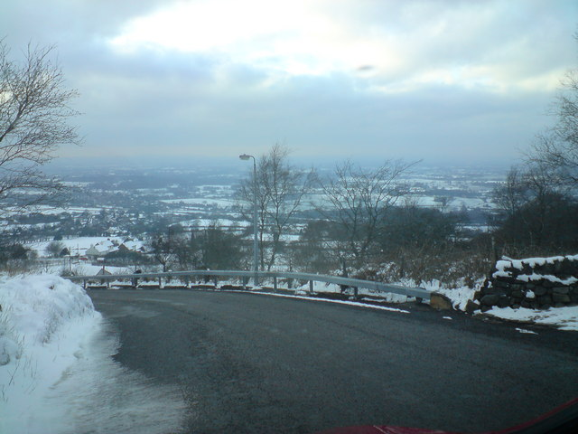 Cheshire Plains from Mow Cop