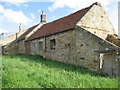 NU2103 : Derelict cottage on the end of the terrace in Guyzance main street by Dr Duncan Pepper
