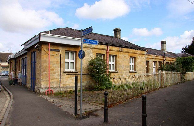The former Railway Station in Woodstock