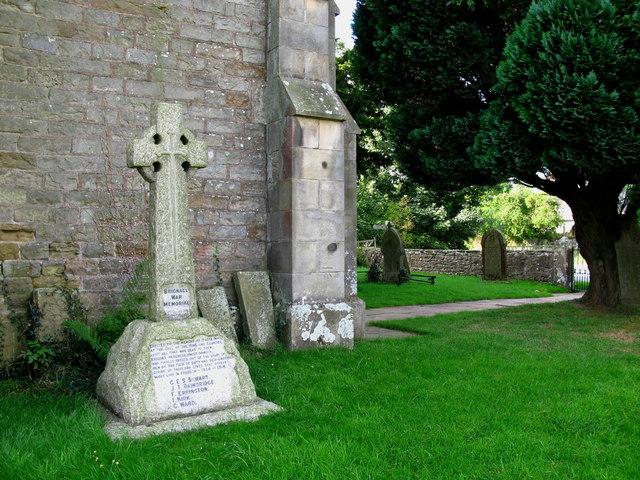 War Memorial, Brignall