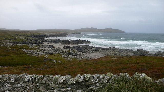 Coastline near Gleann a' Bhodaich