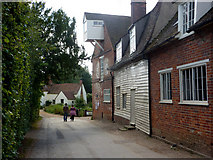 TM0733 : By Flatford Mill by Andrew Hill