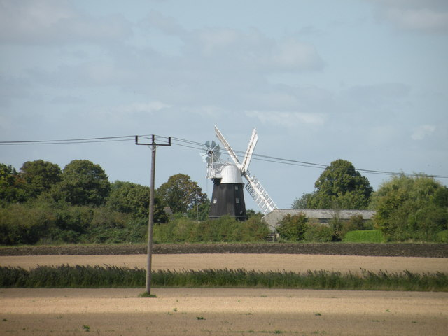 View of Wicken Windmill