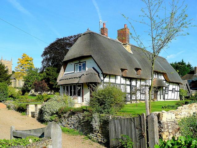 Chocolate Box cottage, Ashton under Hill